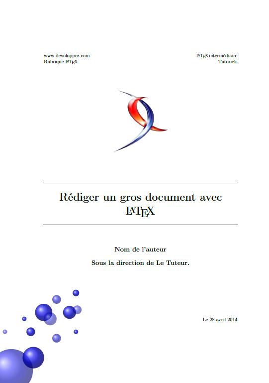 Réalisation D Un Document Conséquent